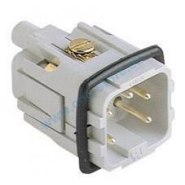 Connettore 4+1 poli maschio