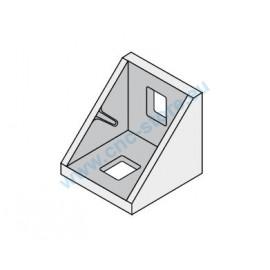 Squadra di fissaggio 18x18 alluminio